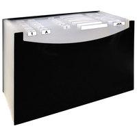 C-Line 48221 21-Pocket Black Legal Sized Standing Expanding File