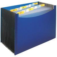 C-Line 48235 13-Pocket Blue Letter Sized Standing Expanding File