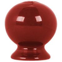 Homer Laughlin 750326 Fiesta Scarlet Salt Shaker - 12/Case