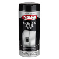 Weiman W92 30 ct. Stainless Steel Cleaning & Polishing Wipes - 4/Case