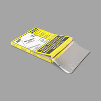 C-Line 90125 Topper 11 inch x 8 1/2 inch Standard Weight Top-Loading Clear Polypropylene Sheet Protector - 100/Box