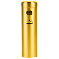 Aarco SC15W Gold Wall Mounted Cigarette / Ash Receptacle