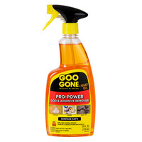Goo Gone 2180A Pro-Power 24 oz. Adhesive Remover Spray Gel   - 4/Case