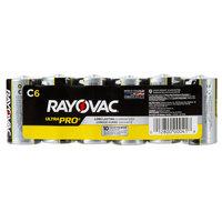 Rayovac ALC-6J Ultra Pro Industrial C Alkaline Batteries   - 6/Pack