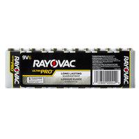 Rayovac AL9V-6J Ultra Pro Industrial 9V Alkaline Batteries   - 6/Pack