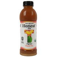 Honest Tea 16.9 oz. Organic Sweetened Peach Oolong Iced Tea   - 12/Case