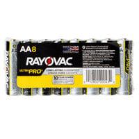 Rayovac ALAA-8J Ultra Pro Industrial AA Alkaline Batteries - 8/Pack