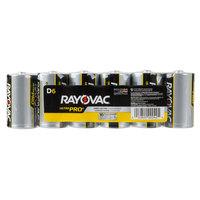 Rayovac ALD-6J Ultra Pro Industrial D Alkaline Batteries   - 6/Pack