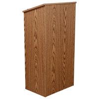 Oklahoma Sound 222-MO Medium Oak Finish Lectern