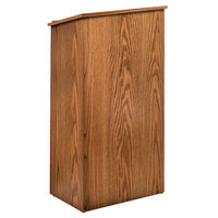 Oklahoma Sound 222MO Medium Oak Finish Lectern