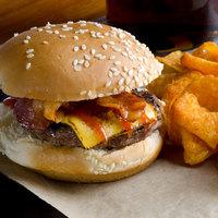 Devault Foods 2 oz. 80/20 Beef Burger - 96/Case