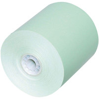 PM Company N3165G Green Cash Register Roll Tape   - 50/Case