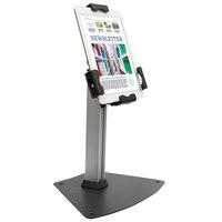 Kantek TS950 Silver Rotating Desktop Tablet Kiosk Stand