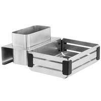 Walco CRA2BB Crate Stainless Steel Bread & Baguette Set
