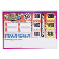 Who Let the Dogs Out 1 Window Pull Tab Tickets - 660 Tickets per Deal - Total Payout: $510