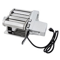 Weston 01-0201 Roma Electric Traditional Style Pasta Machine with 2-Speed Motor - 120V, 90W