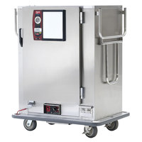 Metro MBQ-144-QH Insulated Heated Banquet Cabinet With Quad-Heat System- One Door Holds up to 144 Plates 120V