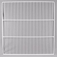 True 213013-038+985775 White Coated Wire Shelf with 5 inch Standoff - 22 7/8 inch x 23 1/4 inch