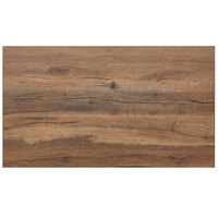 BFM Seating KP3048 Relic Knotty Pine 30 inch x 48 inch Rectangular Melamine Table Top with Matching Edge