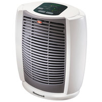 Honeywell HZ7304U 11 3/16 inch x 8 1/8 inch x 12 7/8 inch White Energy Smart Cool Touch Heater - 1500W