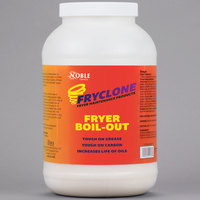 Noble Chemical 8 lb. Fryclone Boil-Out Fryer Cleaner   - 4/Case