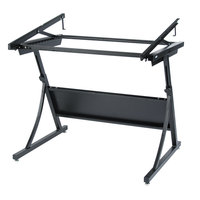 Safco 3957 PlanMaster 43 inch x 29 1/2 inch x 37 1/2 inch Black Drafting Table Base