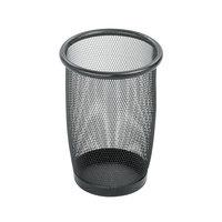 Safco 9716BL 3 Qt. Black Mesh Wastebasket