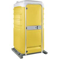 PolyJohn Fleet SH1-1009 Yellow Portable Cold Water Shower