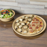 Homer Laughlin 505330 Fiesta Ivory 15 inch China Pizza / Baking Tray - 4/Case