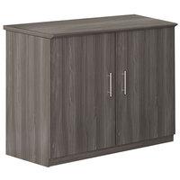 Mayline MSCLGS Medina 36 inch x 20 inch x 29 1/2 inch Gray Steel Storage Cabinet