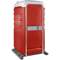PolyJohn Fleet SH1-1013 Red Portable Cold Water Shower