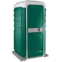 PolyJohn Fleet SC1-1003 Evergreen City Mains Portable Restroom and Sink