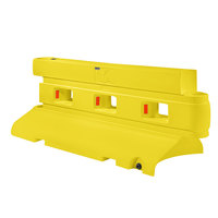 PolyJohn RB1-2000Y Yellow Rhino Barrier