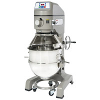 Globe SP60 Gear Driven 60 Qt. Commercial Planetary Floor Mixer - 220V, 3 hp