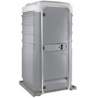 PolyJohn Fleet SC1-1005 Pewter City Mains Portable Restroom and Sink