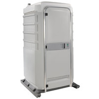PolyJohn Fleet SC1-1007 Light Gray City Mains Portable Restroom and Sink