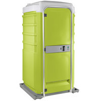 PolyJohn Fleet SC1-1004 Lime Green City Mains Portable Restroom and Sink