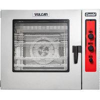 Vulcan ABC7G-PRO Liquid Propane Half Size Gas Combi Oven - 80,000 BTU