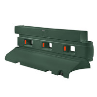 PolyJohn RB1-2000EG Evergreen Rhino Barrier