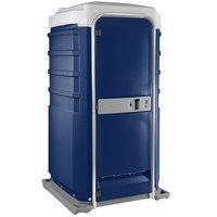 PolyJohn Fleet SC1-1016 Dark Blue City Mains Portable Restroom and Sink