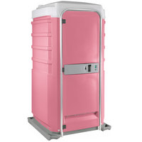 PolyJohn Fleet SC1-1012 Pink City Mains Portable Restroom and Sink