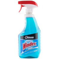 SC Johnson Windex 682259 Ammonia-D 32 oz. Glass and Multi-Surface Spray Cleaner   - 12/Case