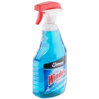 SC Johnson Windex® 695155 Ammonia-D 32 oz. Glass and Multi-Surface Spray Cleaner - 12/Case