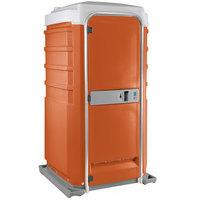 PolyJohn Fleet SC1-1011 Orange City Mains Portable Restroom and Sink