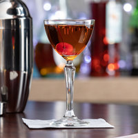 Libbey 601329 Retro Cocktails 4.75 oz. Speakeasy Nick & Nora Martini Glass   - 12/Case
