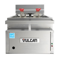 Vulcan CEF40 40 lb. Electric Countertop Fryer - 208V, 3 Phase, 17kW