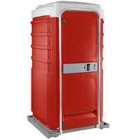 PolyJohn Fleet SC1-1013 Red City Mains Portable Restroom and Sink
