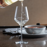 Master's Reserve 9323/U224A Acura Prism 16 oz. Pour Control 8 oz. / 5 oz. Wine Glass - 12/Case