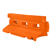 PolyJohn RB1-2000O Orange Rhino Barrier