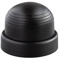 Libbey 96022 2 3/4 inch Black Replacement Shaker Cap - 12/Case